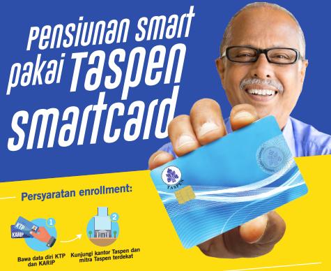 Taspen Smart Card, Kartu Sakti Bagi Pensiunan PNS