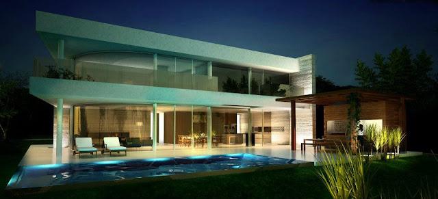 Render arquitectura moderna