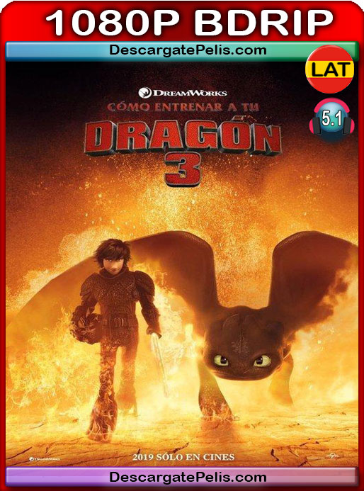 Cómo entrenar a tu dragón 3 (2019) 1080P BDrip Latino – Ingles