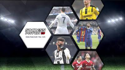 PES 2013 Socress Patch 13 Season 2017/2018