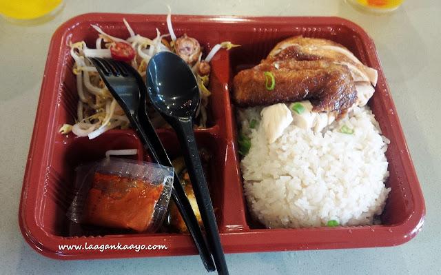 Food at Universal Studios Singapore