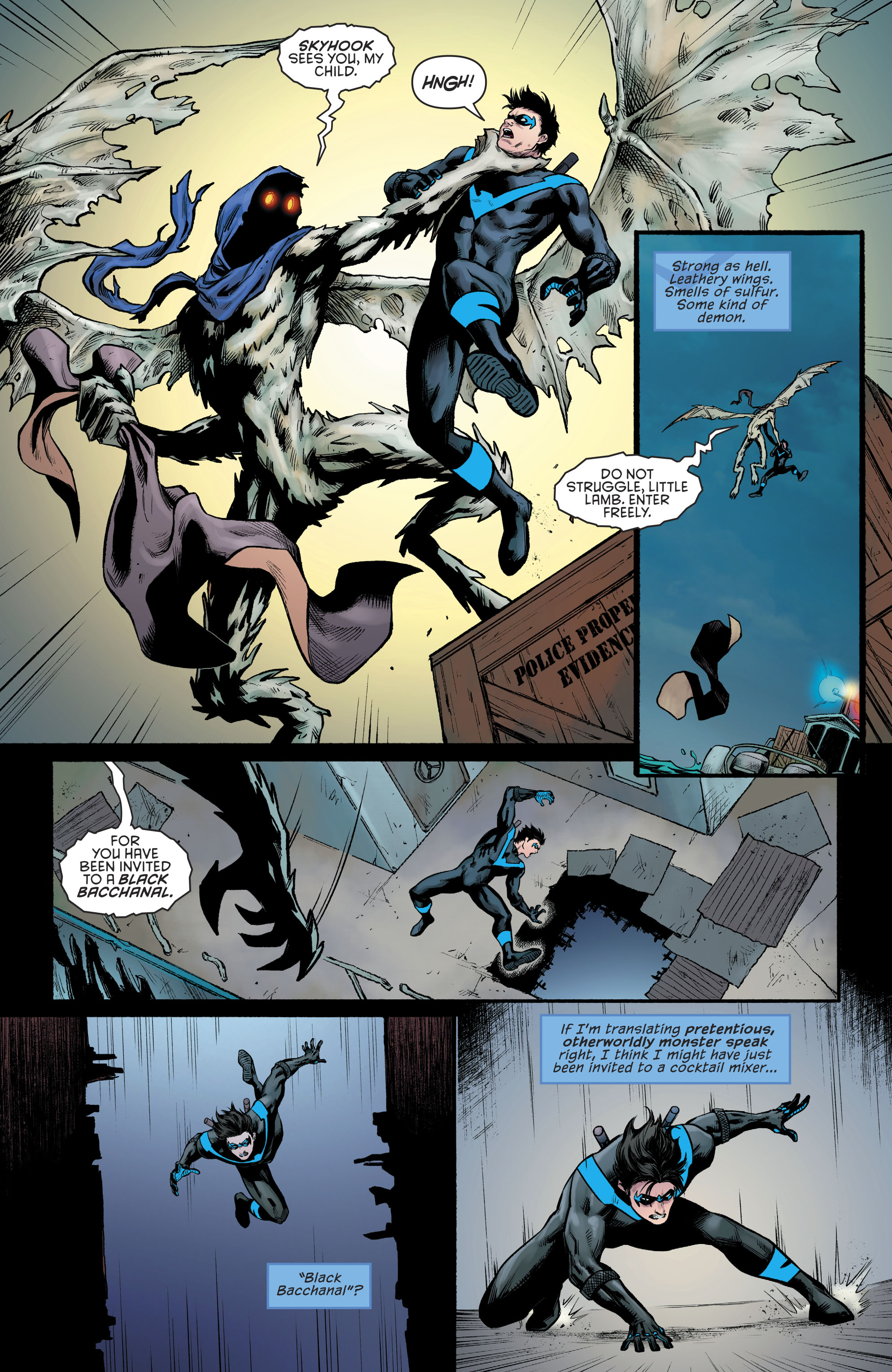 Read online Nightwing (2016) comic -  Issue #23 - 20
