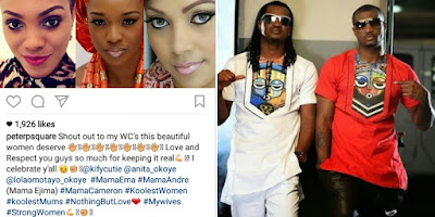 Peter of Psquare: Our Wives Are Not Behind Our Breakup