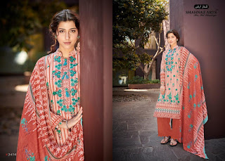 Shahnaz Arts Falaknuma Lawn Cotton Salwar Kameez