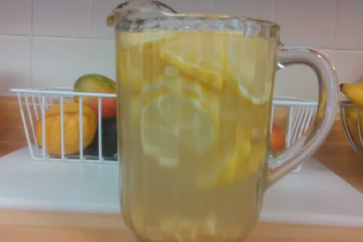 Morning Ginger Lemon Detox Water Recipe for Super Fast Weight loss