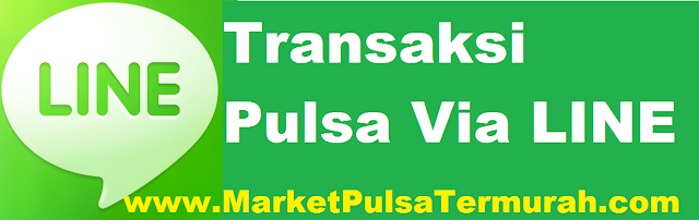 LINE center MarketPulsaTermurah.com