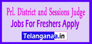 Prl District Session Court, Rangareddy e- Courts Recruitment Notification 2017 Last Date 31-03-2017