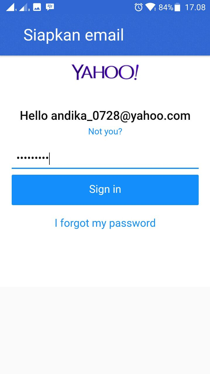 how to get me com email on android