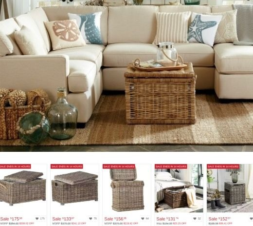 Rattan Storage Trunks on Sale at Overstock