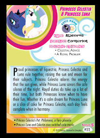 My Little Pony Princess Celestia & Princess Luna Series 5 Trading Card