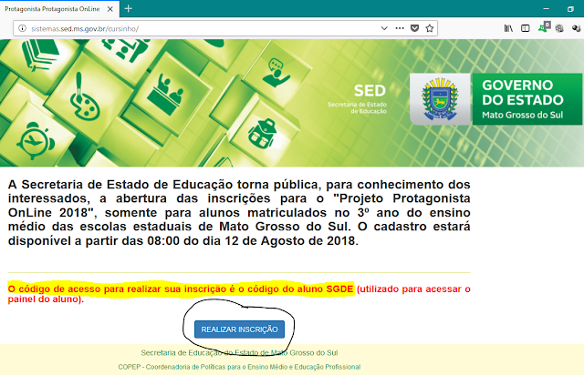 http://sistemas.sed.ms.gov.br/cursinho/