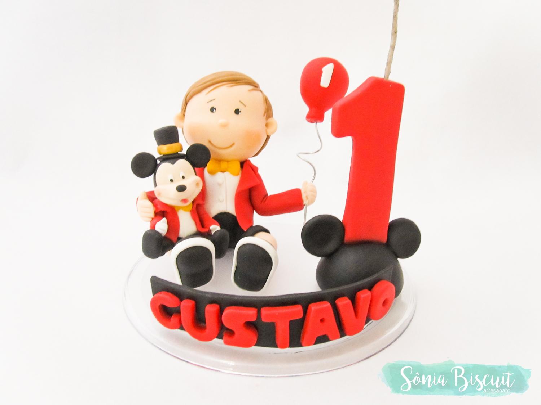 Sonia Biscuit, Topo de Bolo, Biscuit, Menininho, Menino, Mickey, Mickey Magico
