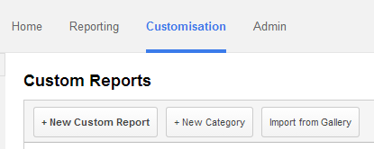 Custom Reports for Blogger using Google Analytics 2