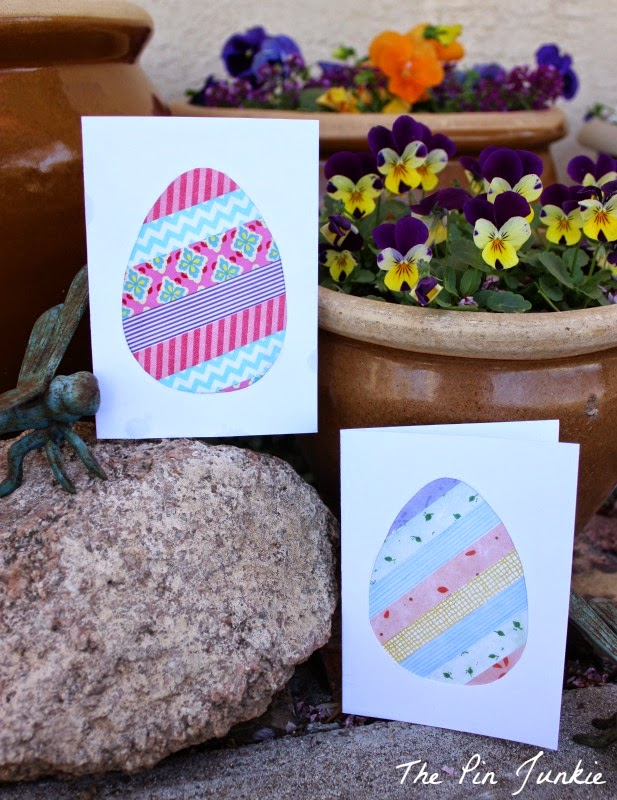 Easter egg cards diy