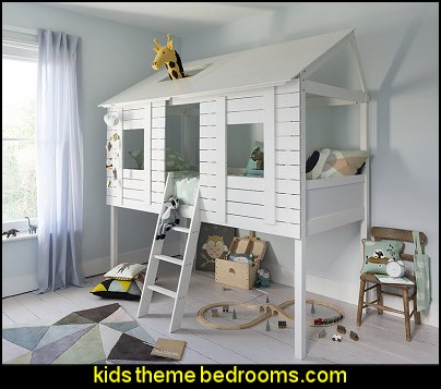 Treehouse Bed Mid Sleeper Cabin Bed