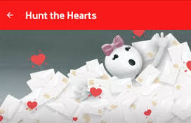 Vodafone Hunt The Hearts
