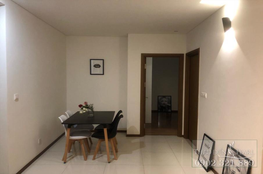 Cho thuê Thảo Điền Pearl 2PN tầng 8 full nội thất - hình 3