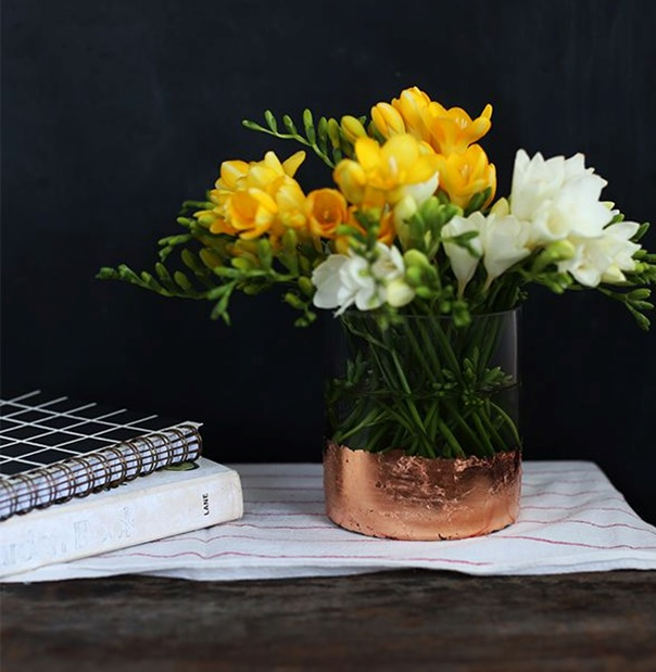 kolay yapılabilen dekoratif vazolar
