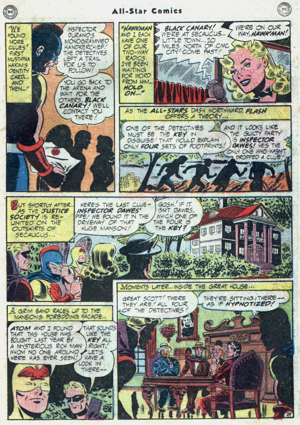 Read online All-Star Comics comic -  Issue #57 - 37