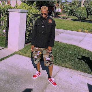 Wizkid goes blonde in new look