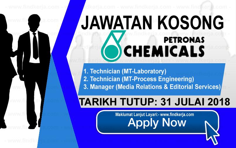 Jawatan Kerja Kosong Petronas Chemical Group logo www.ohjob.info www.findkerja.com julai 2018