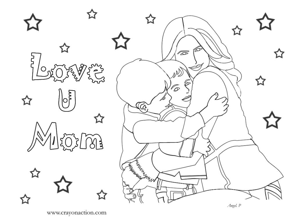 Gambar Kartun Orang Tua Dan Anak