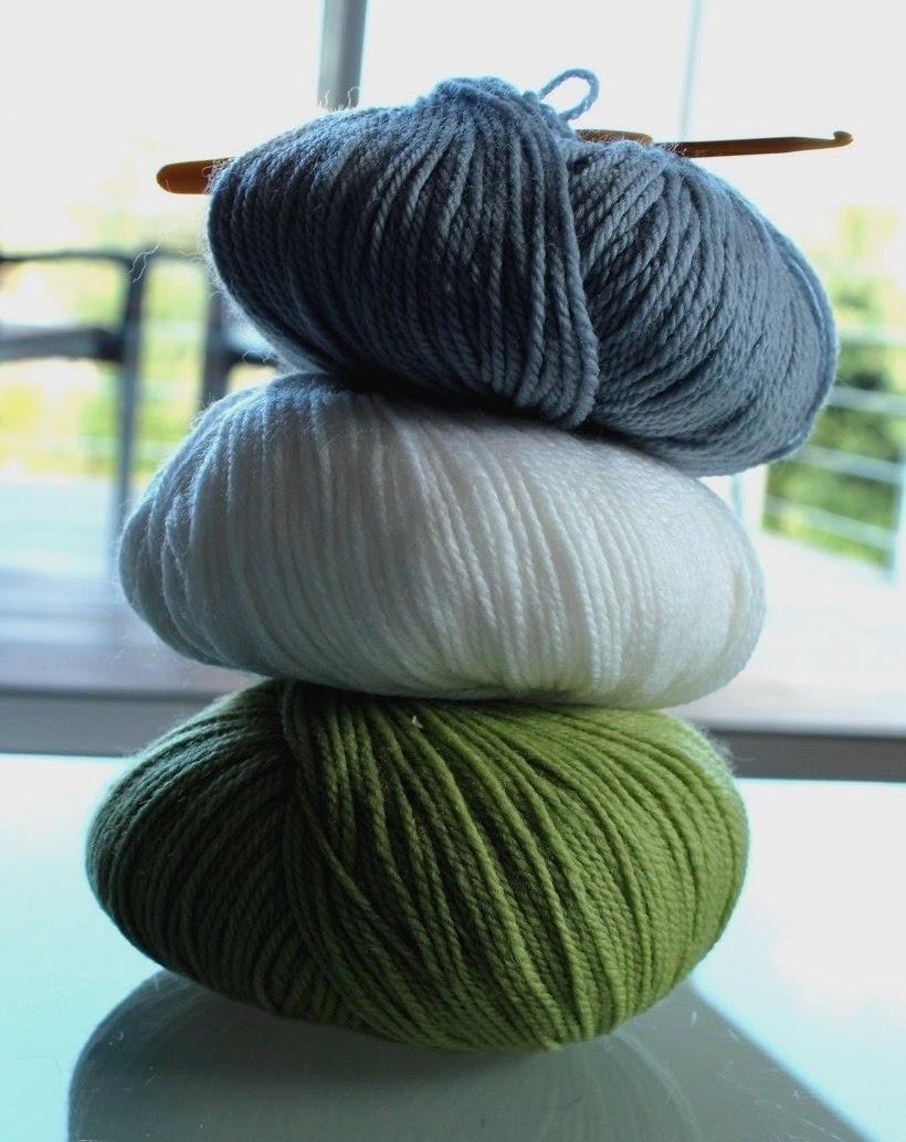 Couleurs et mixed media tricoter une petite couverture pour b b - Tricoter une couverture pour bebe ...