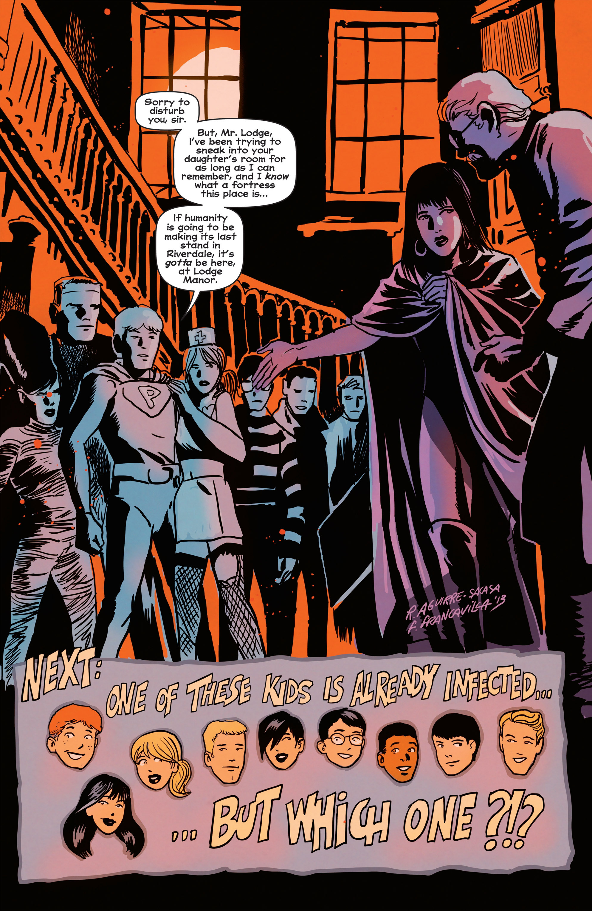 Read online Afterlife with Archie comic -  Issue #2 - 25