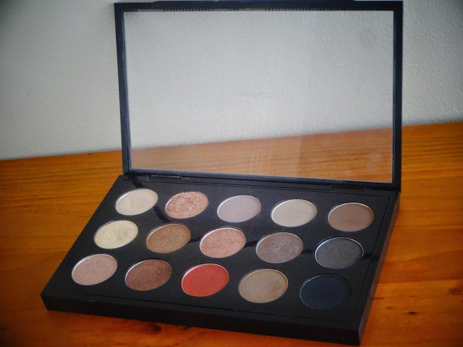 My MAC Eye Shadow Collection