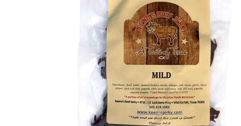 Keeno's Beef Jerky - Mild ~ Beef Jerky Reviews