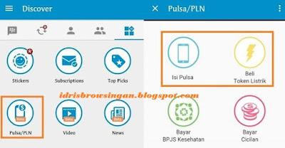 Membeli Pulsa dan Token PLN di BBM