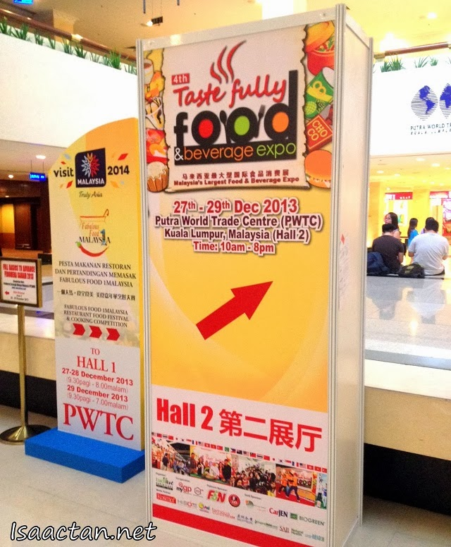 4th Tastefully Food & Beverage Expo 2013 @ PWTC KL