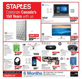 Staples Flyer June 28 – July 4, 2017