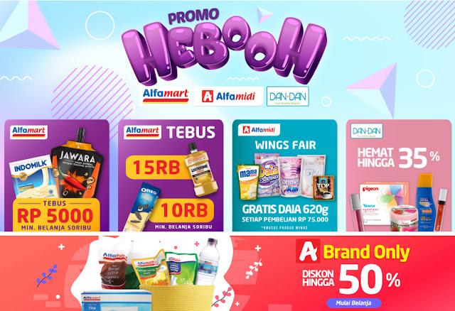 #Alfacart - #promo Harga Heboh dari Alfamart, Alfamidi & Dan+Dan Store