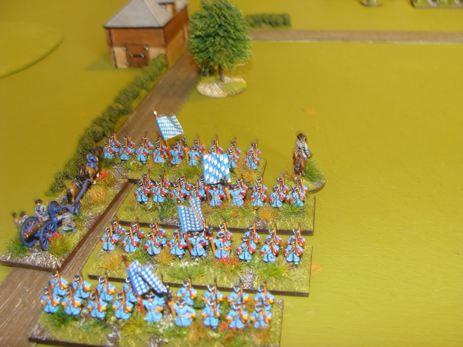 The Independent Wargames Group: Black Powder Two  A first