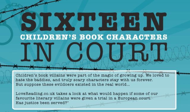 16 Children's Book Characters In Court