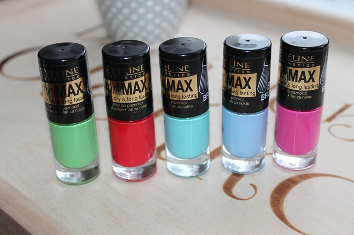 Mini Max quick dry & long lasting lakiery Eveline