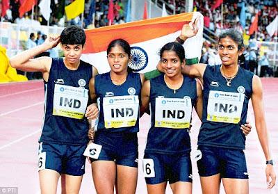 Indijos moterų bėgimo