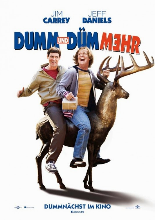 Dumb and Dumber 2 German Poster : Teaser Trailer