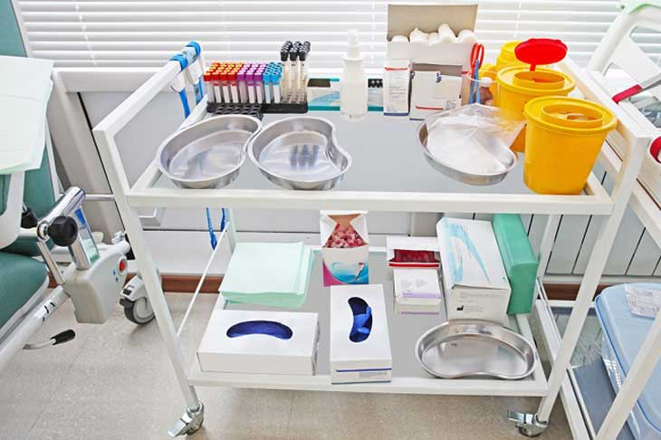 equipment trolley