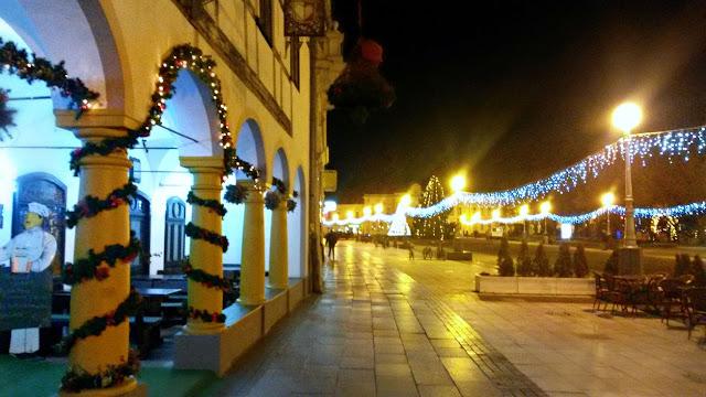 advent, new year, nova godina, bor, christmas tree, božićno drvce, snowflakes, božić, winter, zima, square