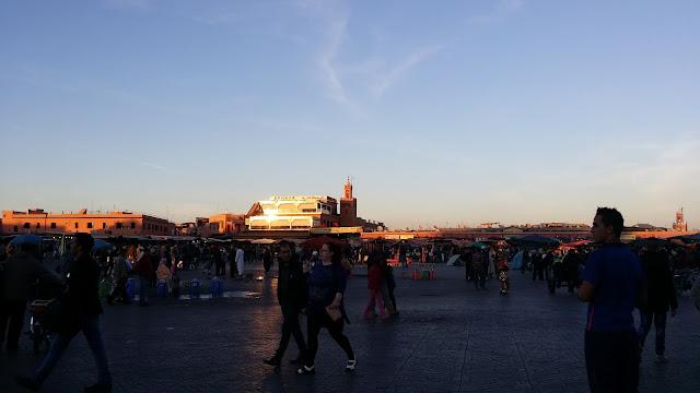 Plaza de la Jemaa el Fna (Marrakech)