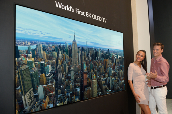IFA 2018: LG intros World's first 8K OLED TV