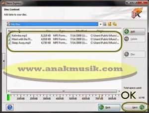 Cara Membuat CD – DVD MP3 Menggunakan Nero