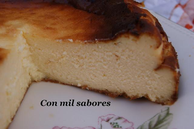 """Tarta De Queso """"la Viña"""" De San Sebastián"""