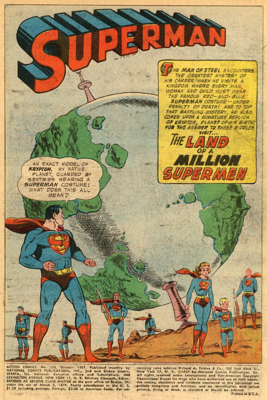 Read online Action Comics (1938) comic -  Issue #233 - 3