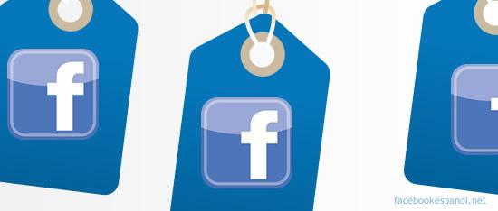 las etiquetas en facebook