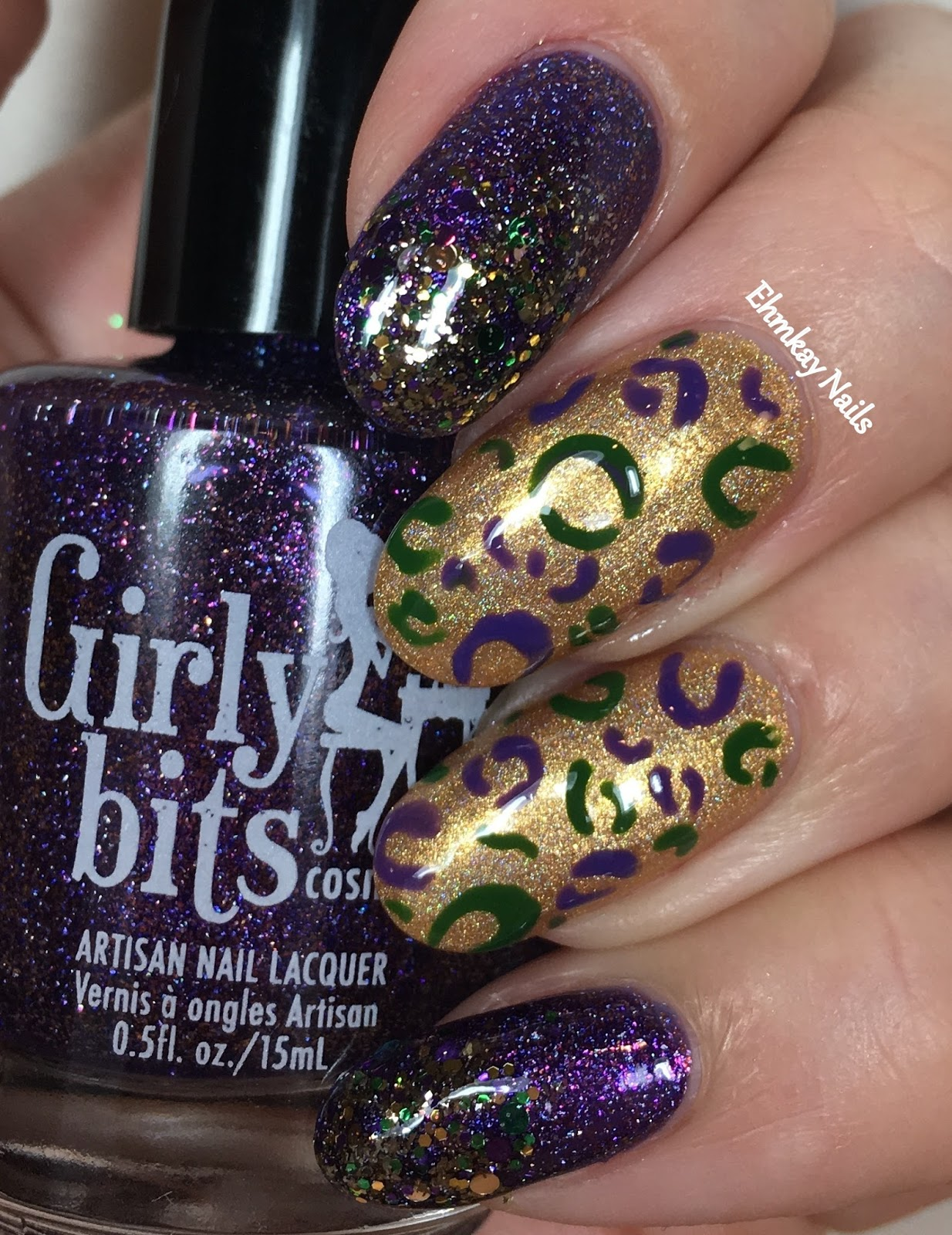 Old Fashioned Mardi Gras Nail Art Sketch - Nail Art Design Ideas ...