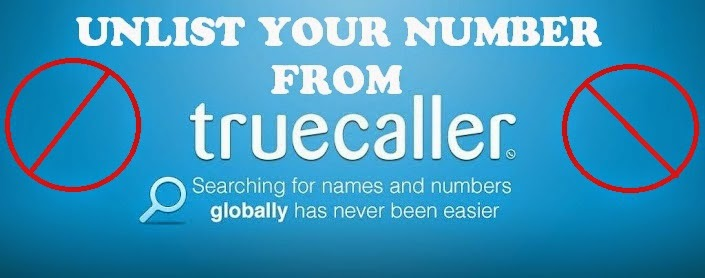remove mobile number from truecaller