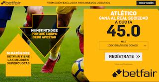 betfair supercuota Atletico gana a Real Sociedad 27 octubre